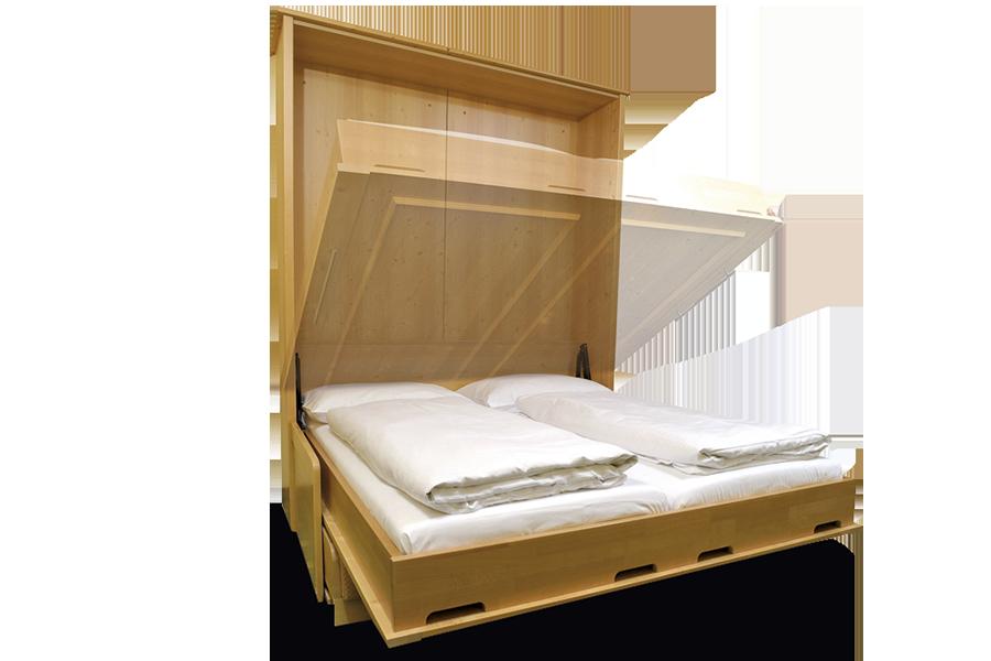 Schrankbetten Einfach Wegklappen Flexinno Möbelsysteme